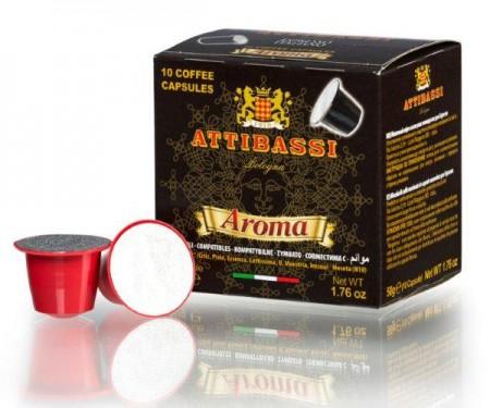 (網頁更新中,價格以通路報價為主) ATTIBASSI 義大利原裝進口咖啡膠囊 Aroma