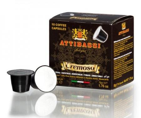 (網頁更新中,價格以通路報價為主) ATTIBASSI義大利原裝進口咖啡膠囊 Cremoso